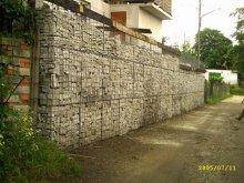 Mur Oporowy w trakcie budowy
